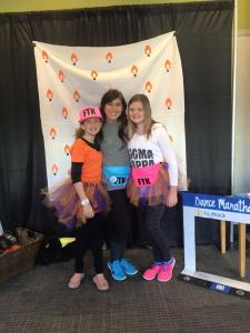 Our miracle child, Mia, and her sister, Mailey - 2016 marks 10 years in remission for Mia!